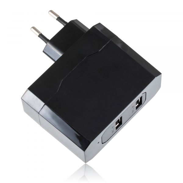 USB 2-Port Ladeadapter, 220V, EU