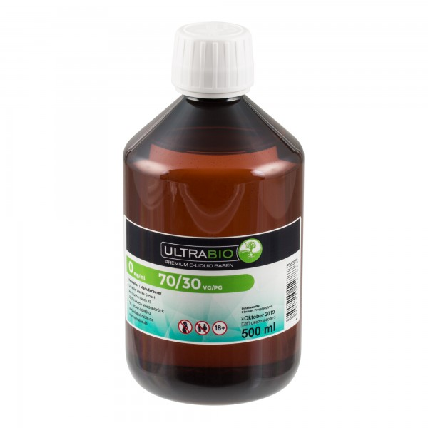 eLiquid Basis, 500ml, PG30 / VG70