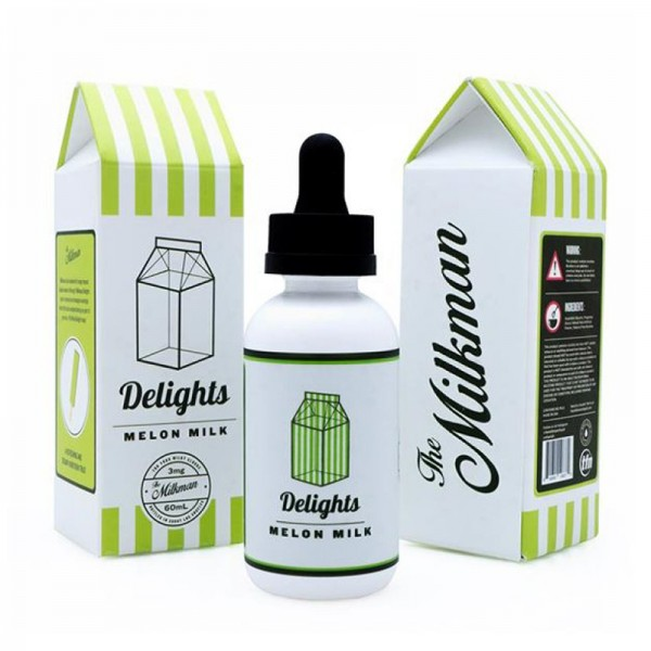 Milkman Delights Melon Milk, Shake & Vape Liquid, 50ml