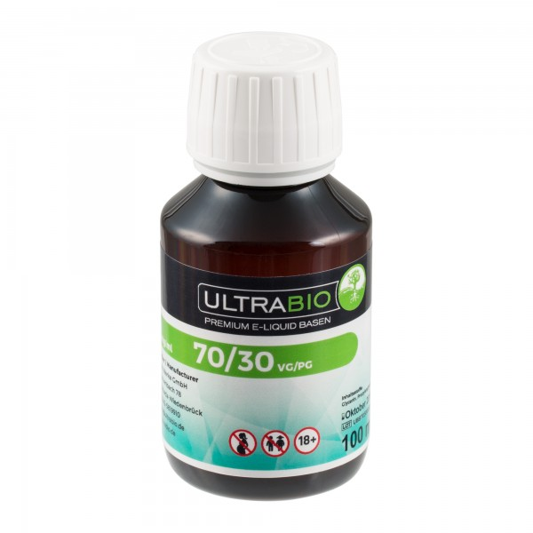 eLiquid Basis, 100ml, PG30 / VG70