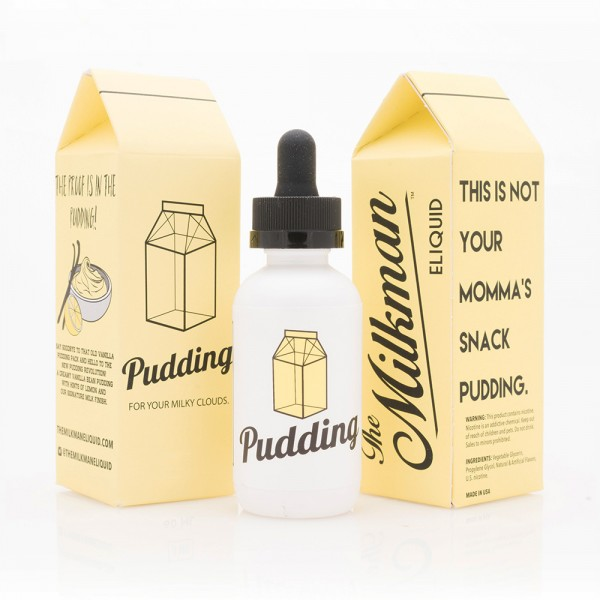 The Milkman Pudding, Shake & Vape Liquid, 50ml
