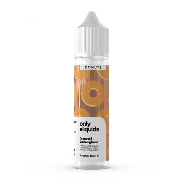 Only - Zuckerglasur Donut, Shake & Vape Aroma, 15ml